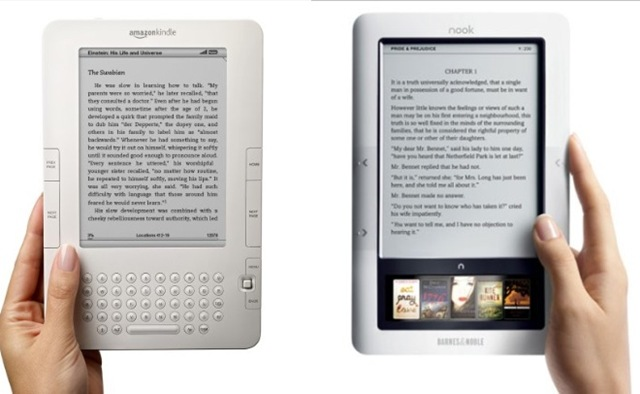 Kindle contre Nook