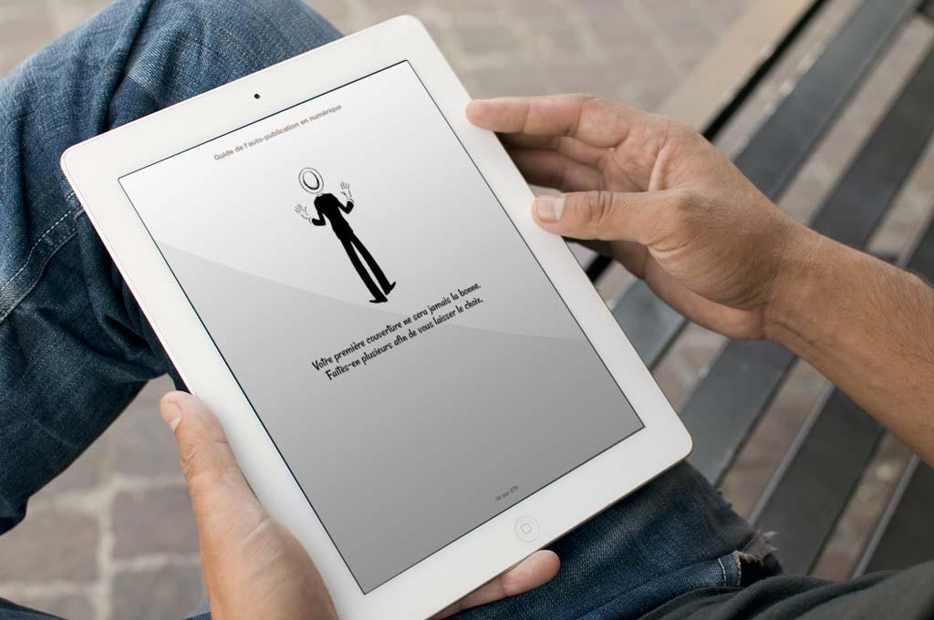 Des fausses pages de publicités prodiguant des conseils utiles viennent agrémenter la publication.