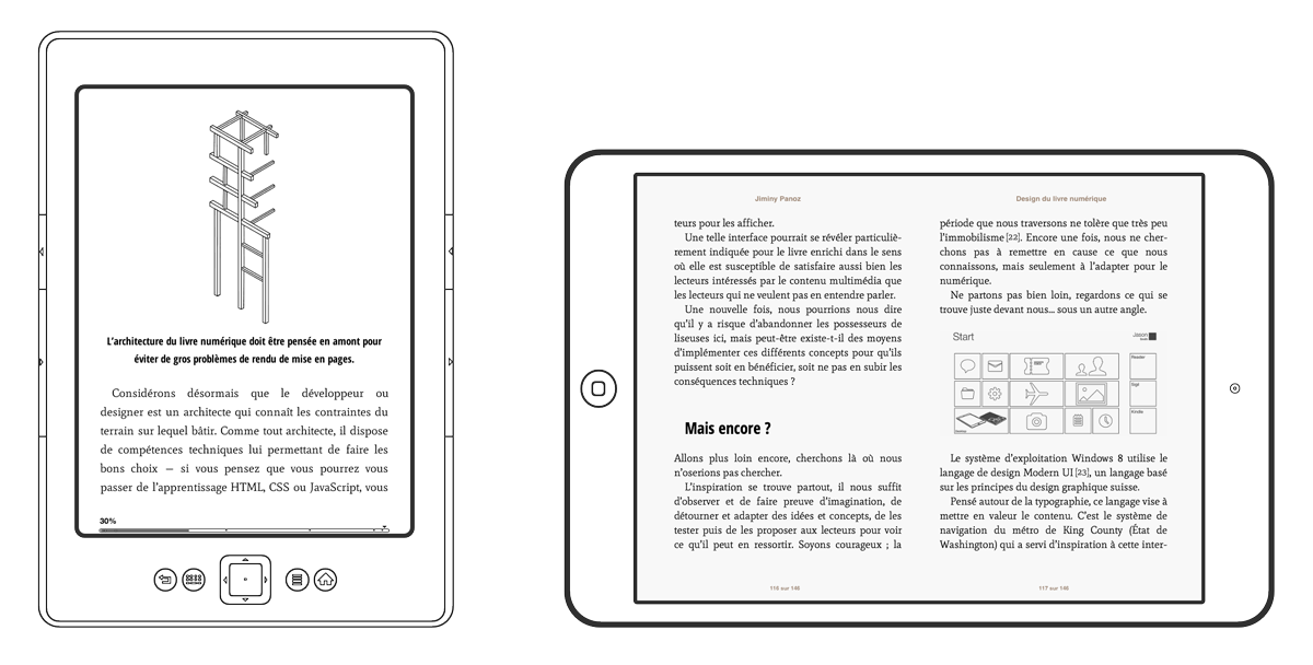 Version Kindle et version EPUB