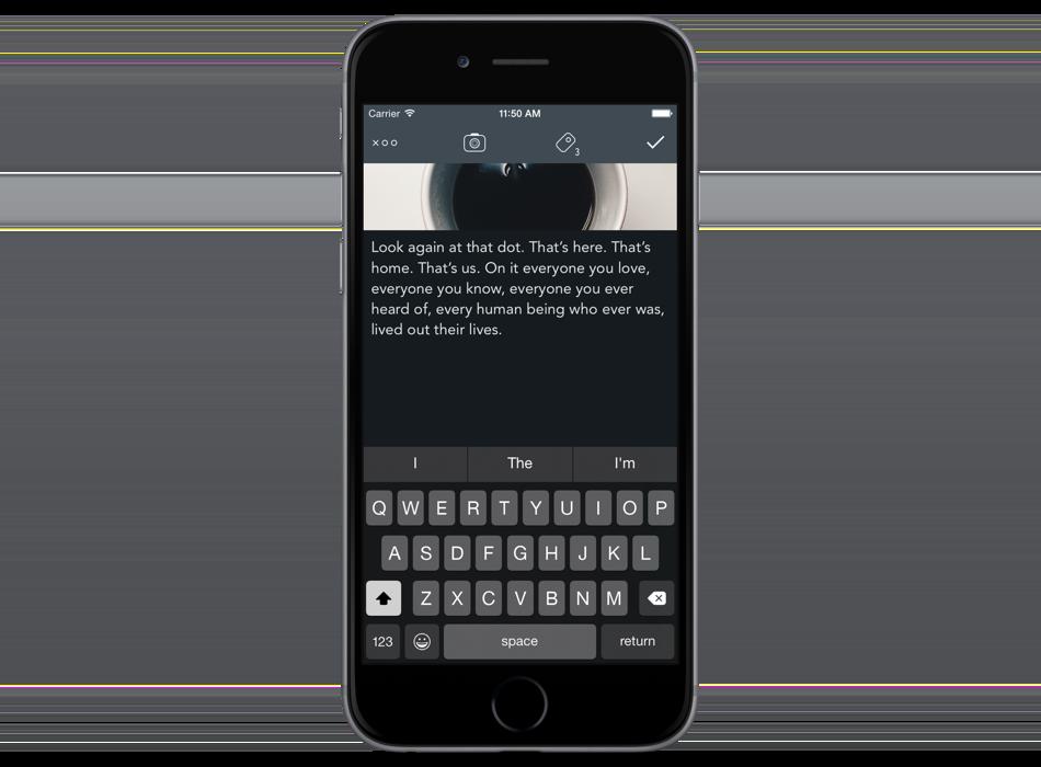 L'app permet de créer un carnet de notes et de l'exporter au format EPUB.