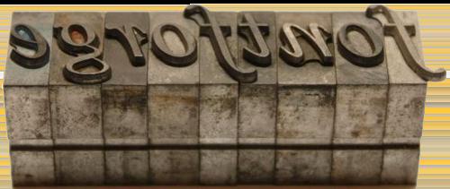 metal-fontforge
