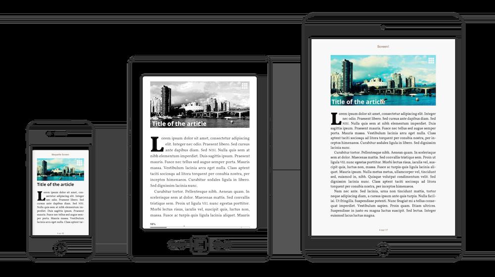 Un eBook peut être lu dans un smartphone, une liseuse, une tablette ou un ordinateur. Mais demain ?