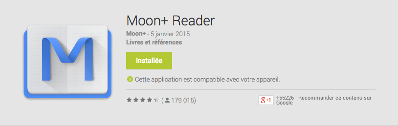 Pour tester le pire scénario du livre numérique, il suffit d'ouvrir votre EPUB avec cette app sur Android.
