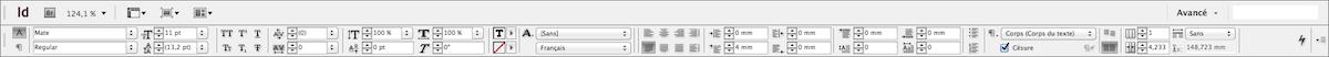 La barre de formatage du logiciel est l'ennemi du livre numérique.