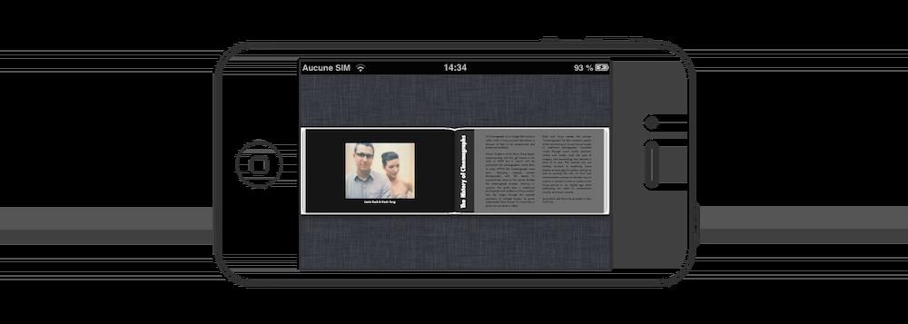 Le problème du fixed-layout est que l'on se rapproche très rapidement de l'expérience d'un PDF… que personne n'aurait l'idée de lire sur smartphone.